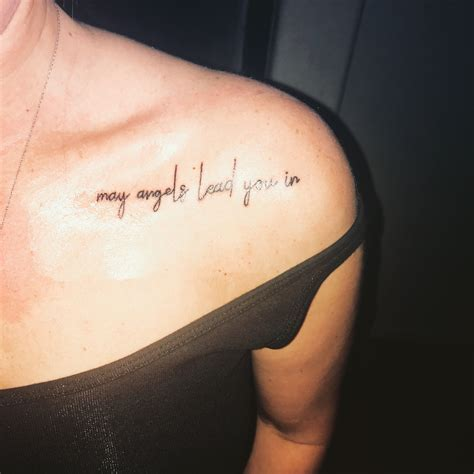 in remembrance tattoos shoulder memorial remembrance
