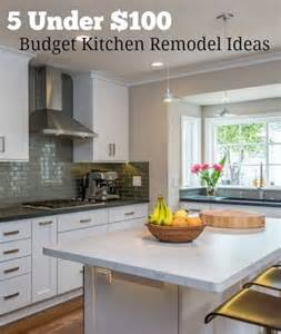 Cheap Renovation Ideas For Kitchen 1000 Ideas About Budget Kitchen Makeovers On Pinterest