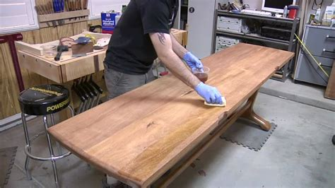 how to make a trestle desk 136 how to build a trestle part 3 of 3 youtube