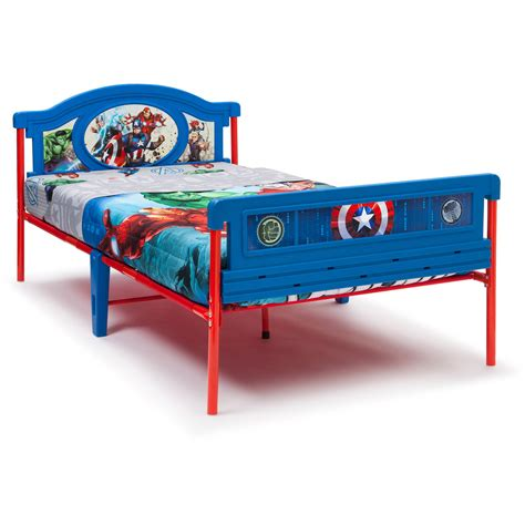 avengers toddler bed set delta children marvel avengers twin bed ebay