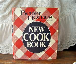 vintage better homes and gardens cookbook 1981 by