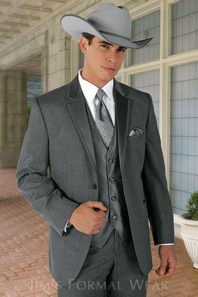 jean yves steel gray western tuxedo tuxedo wedding