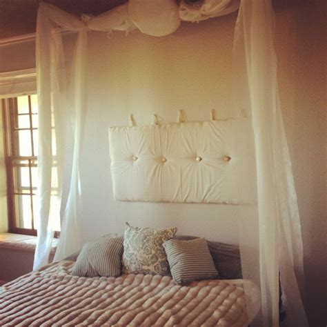 fabric headboard pinterest fabric bed headboard and fabric drapes dream home