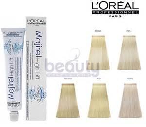 hi lift color loreal l oreal professional majirel high lift hair dye