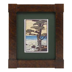 mission corner block frame mt2055 solid wood frames
