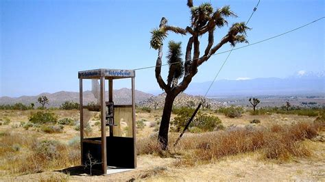 Pacific Bell Phone Number Lookup Mojave Phone Booth