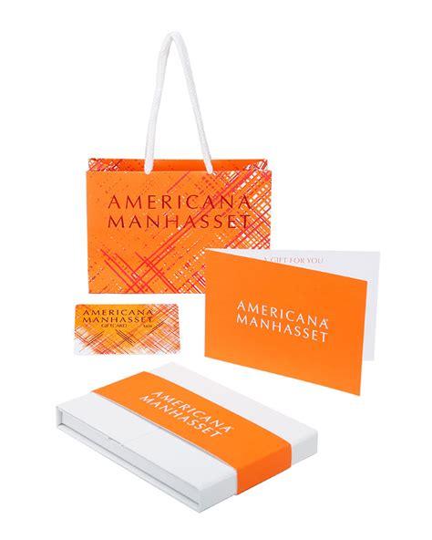 Americana Gift Card - americana manhasset