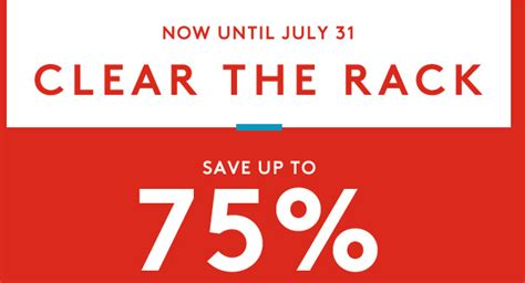 Clear The Rack Sale by Feeds Archives Page 205 Of 264 A Couponer S