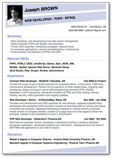 Top 3 Resume Templates by Top 10 Professional Resume Templates 3 10 Resume Cv
