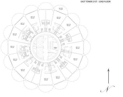 Marina Tower Floor Plan | gallery of ad classics marina city bertrand goldberg 9