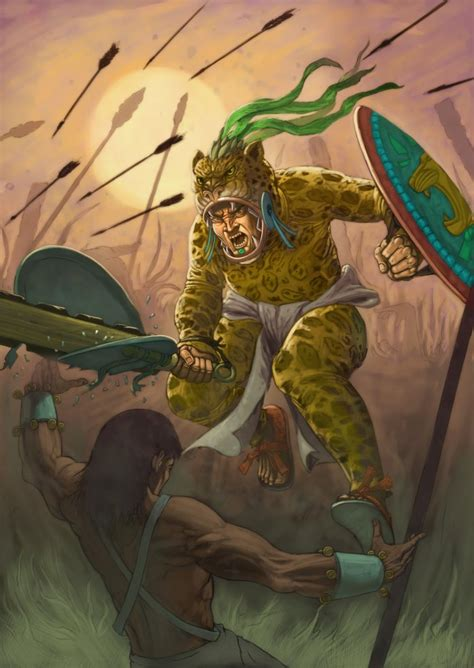 imagenes del guerrero jaguar guerrero azteca guerreroscongloria