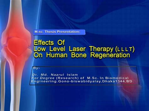 regeneration dissertation m sc biomedical engineering thesis presentation ppt