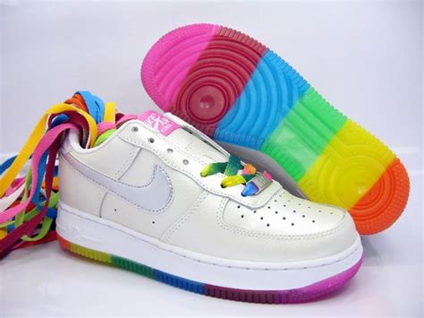 colorful air ones infinity shoes for