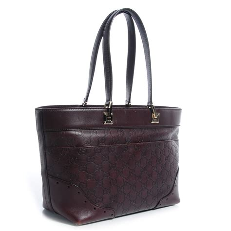 Gucci Big Punch Tote gucci guccissima large punch tote chocolate brown 67685