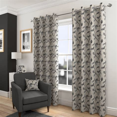 harry corry curtains etienne charcoal ready made eyelet curtains harry corry