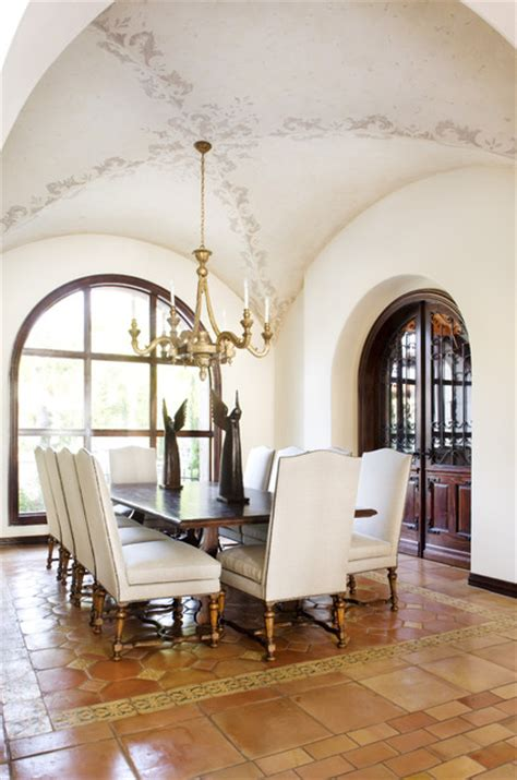 Mediterranean Dining Room Design Ideas Lake Conroe Mediterranean Dining Room