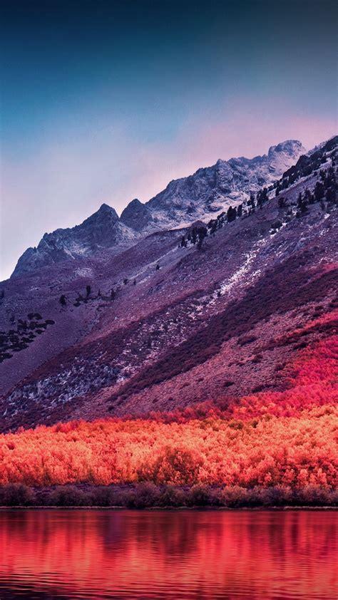 wallpaper sierra nevada mountains macos high sierra