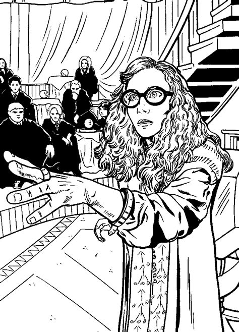 Kids-n-fun.com | 24 coloring pages of Harry Potter and the