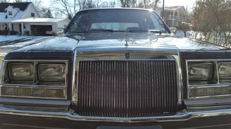 car owners manuals for sale 1985 lincoln continental mark vii electronic throttle control 1985 lincoln continental no reserve for sale photos technical specifications description
