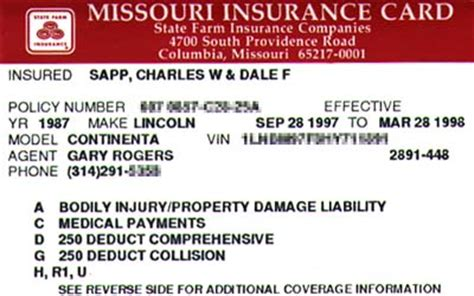 how to make a insurance card car insurance card proof of being insured