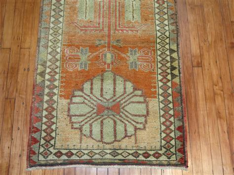 Vintage Runner Rug Vintage Turkish Anatolian Runner Rug At 1stdibs