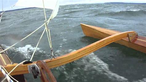 clc boats sails sailing kayak with clc sailrig mk2 youtube