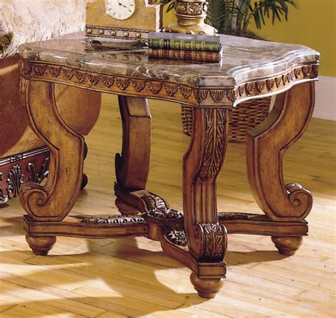 Marble End Tables And Coffee Tables Homelegance Aquinnan Coffee Table Set Walnut C3429 01 At Homelement
