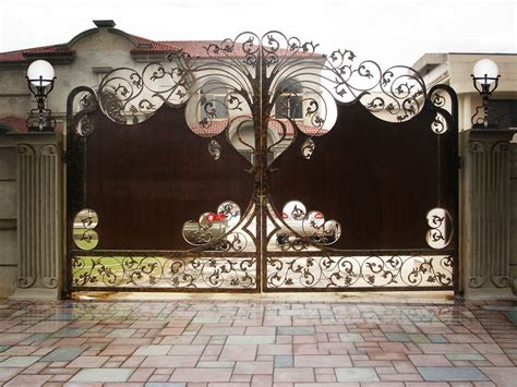 Artistic Lighting Artistic Gate Professional Gate Repair And Installation