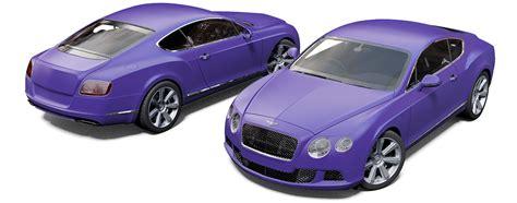 matte purple bentley bentley continental gt project reforma uk