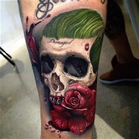 imagenes del joker y su novia mira el nuevo significado de tatuajes del guason o joker