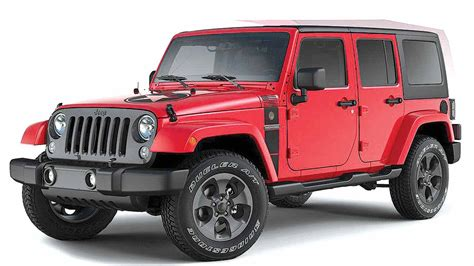 Limited Edition Jeep Wrangler Jeep Unleashes Special Edition Of Wrangler Features