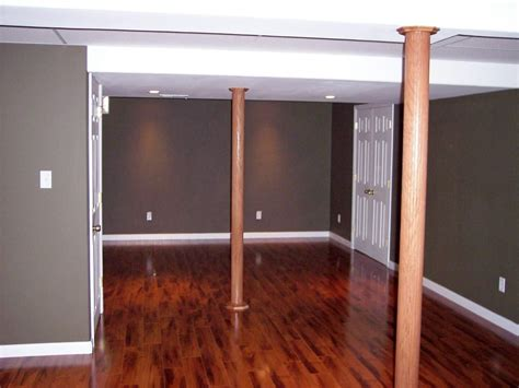 basement wrap inexpensive basement pole wrap ideas http www