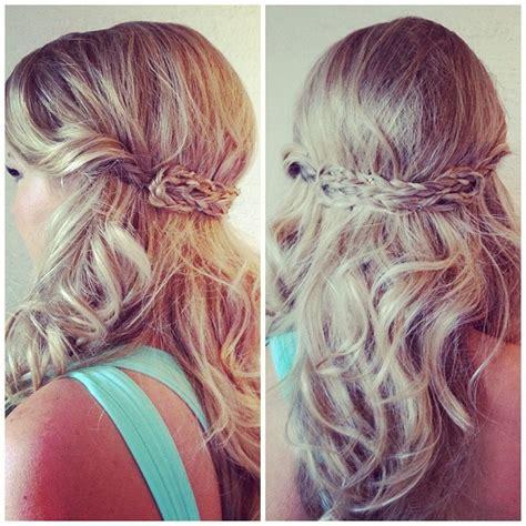 half up half down prom hairstyles tumblr half up half down hairstyles for prom stylecaster