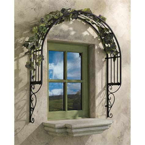 toscano home decor design toscano thornbury ornamental garden window trellis