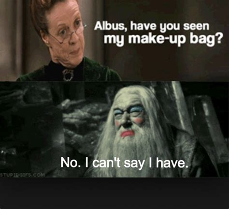 Harry Potter House Meme - harry potter funny caption quot albus have you seen my make up