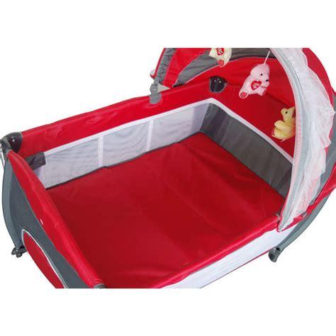 Baby Travel PortaCot Playpen w/ Carry Bag in Red   Buy