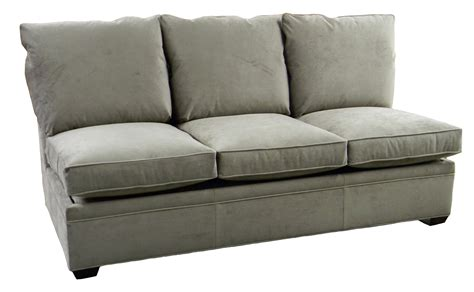 Byron Sectional Armless Queen Sleeper Sofa Air Mattress Sleeper Sofa Nc