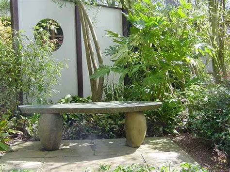 japanese stone bench natural japanese stone bench build a japanese garden uk