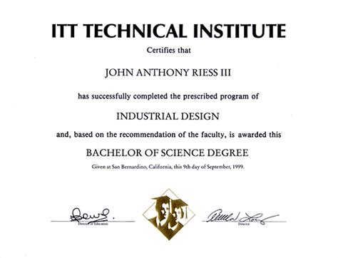 Itt Tech Mba by How To Write Bachelor Of Science Degree On Resume 28