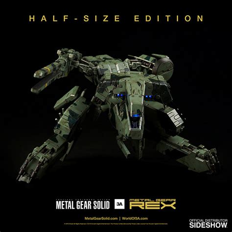figure metal gear metal gear solid metal gear rex collectible figure by