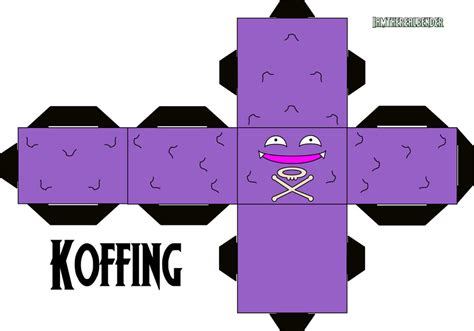 When Was Minecraft Made koffing cubee by iamtherealbender on deviantart