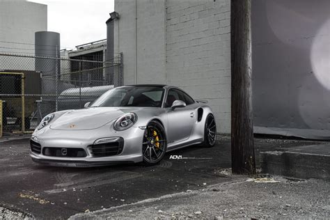 J S Porsche by Silver Porsche 911 Turbo S Adv10 M V2 Cs Series