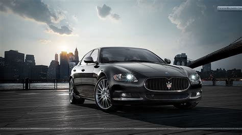 Black Maserati Quattroporte by Maserati Quattroporte Price Modifications Pictures