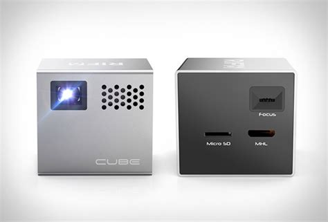 mobile projector cube cube mobile projector