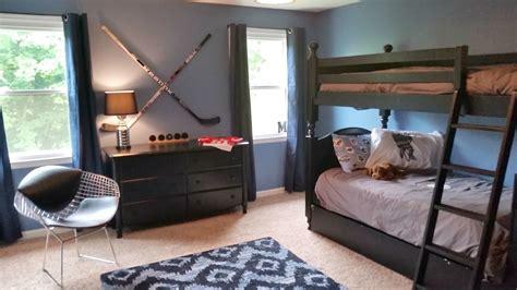 hockey bedrooms hockey bedroom ideas with hockey runner rug bedroom modern