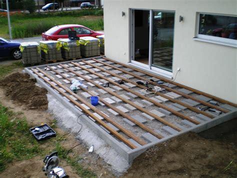 Terrasse Aus Holz Selber Bauen 2212 by Nadine Und Sven Bauen Ein Haus Juni 2012