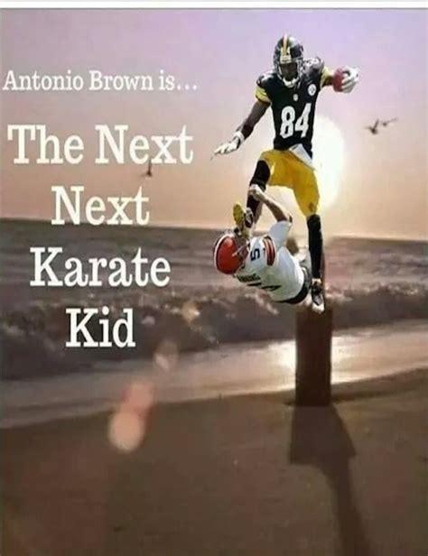 Antonio Brown Meme - funniest antonio brown kicking memes celeb edition