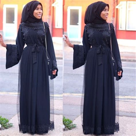Dress Wanita Layered Floral Printing 88902694 accessories with and abaya ideas style