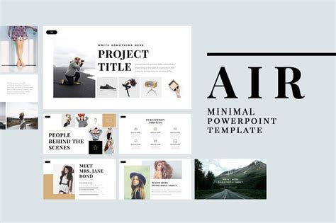 official air powerpoint template 23 free and premium trending minimal powerpoint templates 2017