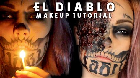 el diablo tattoo el diablo burn squad makeup tutorial
